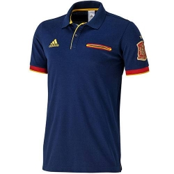 футболка поло темно синяя