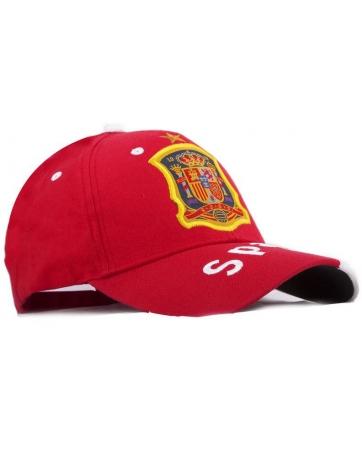 бейсболки испании спортивые красные