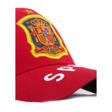 заказать испанскую кепку спортивную красную