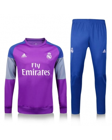 Tracksuit Real Madrid white 2016 2017