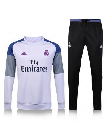 Kids soccer socks Real Madrid white 2016 2017