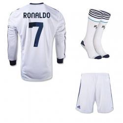 форма реал мадрид  роналдо 7  белая 2012 2013(с шортами)