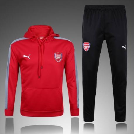 Спортивный костюм футбольный арсенал красный заказать