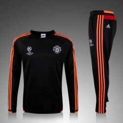 Manchester United Training Suit Black