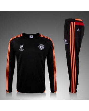 Manchester United Training Suit Black