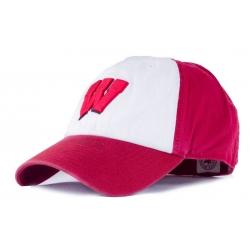 Бейсболка кепки регби литая хлопок красная