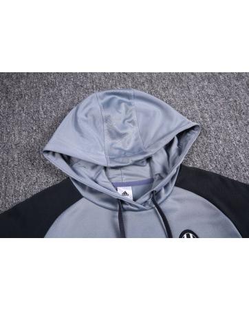 заказать Толстовка свитер с капюшоном ювентус серый купить 2017 2018