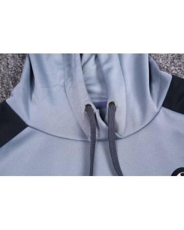 Интернет магазин Толстовка свитер с капюшоном ювентус серый купить 2017 2018