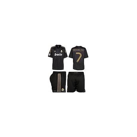 ronaldo форма черная футболка недорого