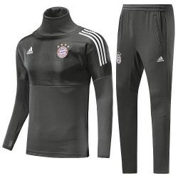 Костюм с водолазкой 2018 Bayern Munchen UEFA серый