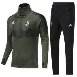 Костюм с водолазкой 2018 Juventus UEFA милитари