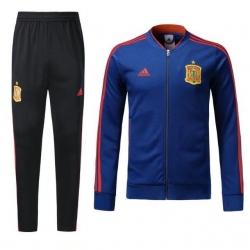 спортивные костюмы испании 2018 2019 синяя