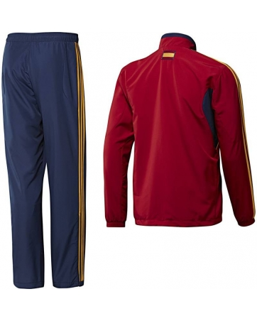 спортивные костюмы испания красный 2012 13