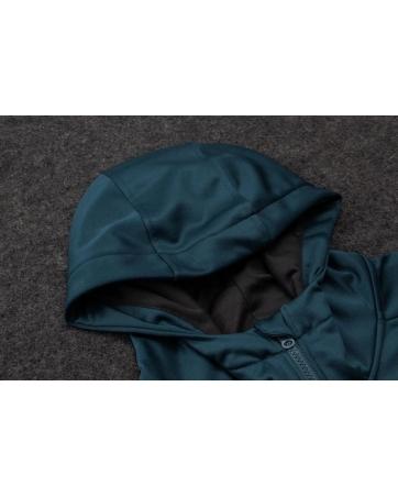 Костюм с капюшоном Реал мадрид темно зеленый