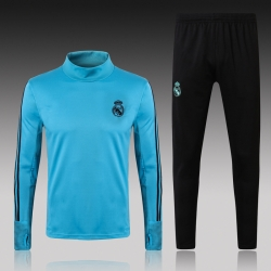 Тренировочные костюм real madrid 2017 2018 синий