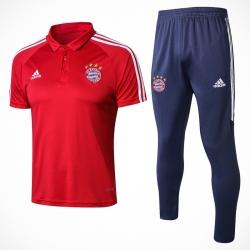 Тренировочный костюм Баварии  Красный