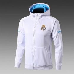 Куртки олимпийки Реал Мадрид 2017 2018 белая
