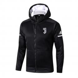Трикотажная куртка ювентус черный