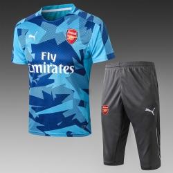 Футбольный костюм Арсенал небесный синий