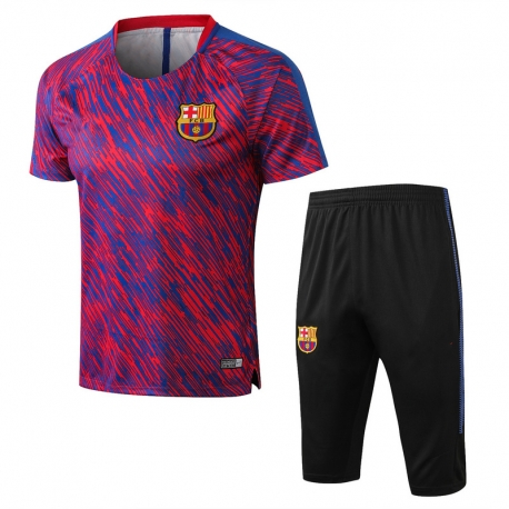 Тренировочный костюм Barcelona 2018 2019 темно синий