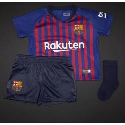 детская форма барселоны с шортами 2018-2019