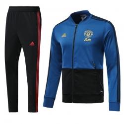 Спортивные костюмы манчестер юнатйед 2018 2019 темно синий