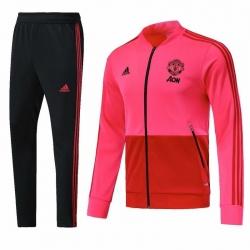 Спортивные костюмы манчестер юнатйед 2018 2019 розовые