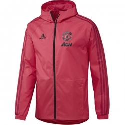 Куртка ветровка Manchester United красная 2018 2019