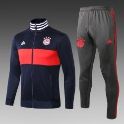 Спотивный костюмы Bayern München темно синий красный 2018 2019