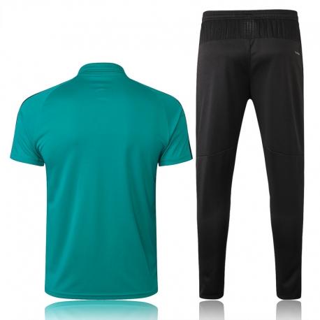 Футбольный костюм Реал мадрид зеленый графитовый