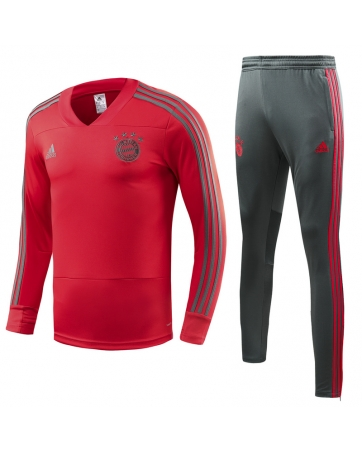 бавария детский тренеровочный костюм красный 2018 2017
