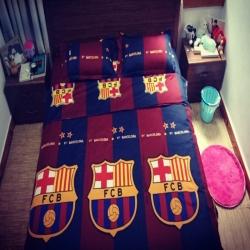 Постельное белье барселона barcelona 2018 2019 гранатовые