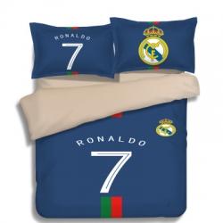 Постельное белье Реал Мадрид 2018 2019 рональдо темно синие