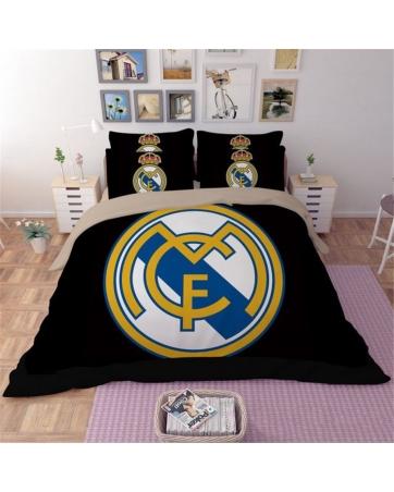 Постельное белье Реал Мадрид Real madrid 2018 2019 черное