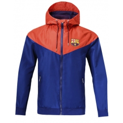 Куртка ветровки barcelona оранжевая синяя