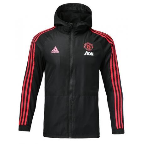 Куртки ветровки Manchester unaited черная