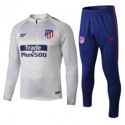 Тренеровочный костюм Atletico Madrid 2018 2019 белый