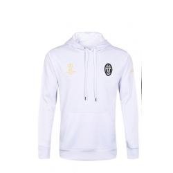 Толстовка свитер худи Juventus белый