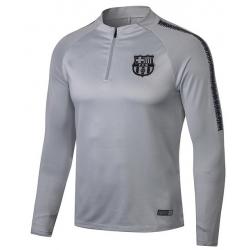 Тренеровочный свитер барселоны barcelona серый