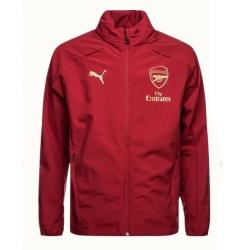 Куртка ветровки arsenal красная