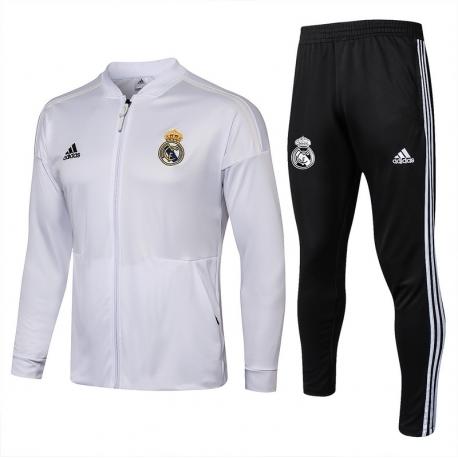 Спортивные костюмы Реал мадрид 2019 2018 белые