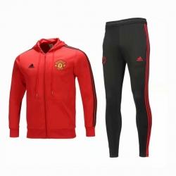 с капюшоном cпортивные костюмы Manchester юнатйед 2018 2019