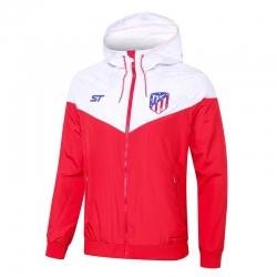 Куртка ветровки атлетика красная