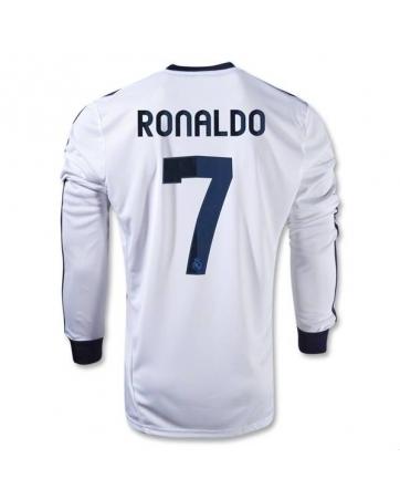 купить форма реал мадрид роналдо 7 белая 2012-2013(с шортами) интернет магазин