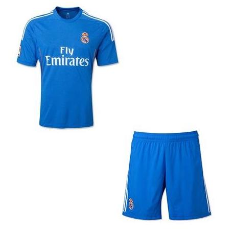 Форма Реал мадрид синим цветом