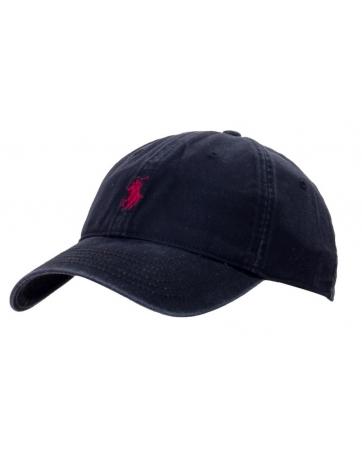 Бейсболка / кепка / поло ральф лурен / polo ralph lauren оригинал черная