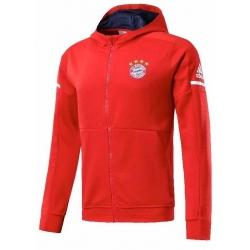 красная Олимпийка куртка Бавария | BAYERN MUNCHEN